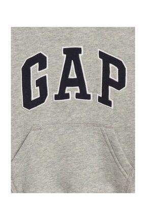 GAP Logolu Kapüşonlu Sweatshirt 4