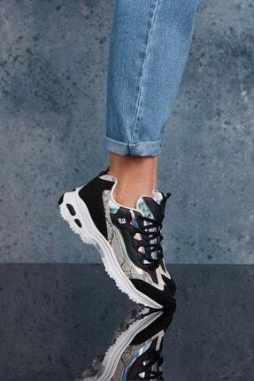 Dark Seer Siyah Beyaz Kadın Sneaker 2