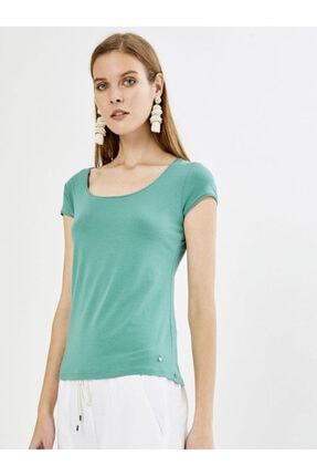 Xint Xınt U Yaka Modal Basic Tişört 0