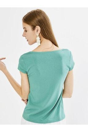 Xint Xınt U Yaka Modal Basic Tişört 3