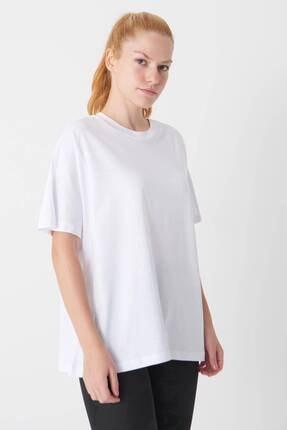 Addax Oversize Basic T-shirt P0730 - J6j7 2