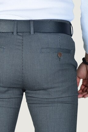 Terapi Men Erkek Keten Pantolon 9k-2200214-042 Antrasit 3