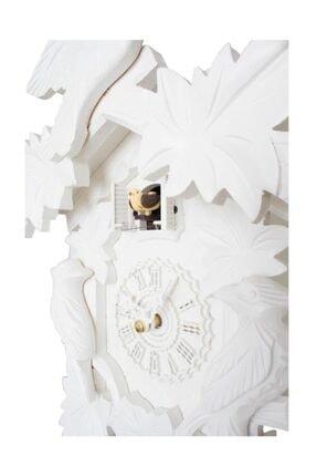 Ultima Regal GQ 35120 El Oyması Guguklu Saat Kuşlu Pilli Beyaz 35 Cm 1