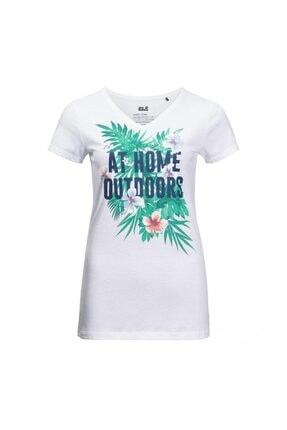 Jack Wolfskin At Home Tee Kadın T-shirt - 1806411-5018 0