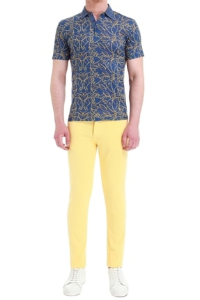 Efor 037 Slim Fit Sarı Jean Pantolon 0