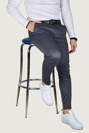 Terapi Men Erkek Keten Pantolon 9y-2200203-020 Füme 0