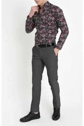 Efor P 1063 Slim Fit Siyah Spor Pantolon 0