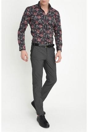 Efor P 1063 Slim Fit Siyah Spor Pantolon 2