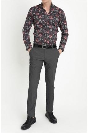Efor P 1063 Slim Fit Siyah Spor Pantolon 3