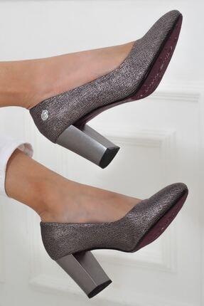 Mammamia Platin Topuklu Kadın Stiletto Ayakkabı • A202ydyl0069 3