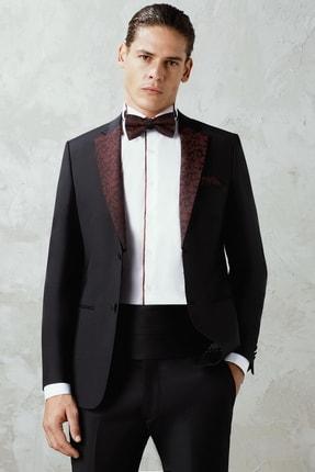 تصویر از 044 Slim Fit Siyah Black Takım Elbise