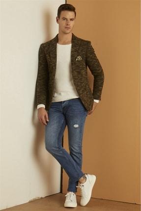 Efor 044 Slim Fit Mavi Jean Pantolon 0