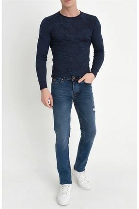 Efor 044 Slim Fit Mavi Jean Pantolon 1