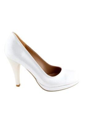 Ayakkabı Tarzım Kırık Beyaz Soft Gova Kadın Ayakkabı Alckc 00569 1