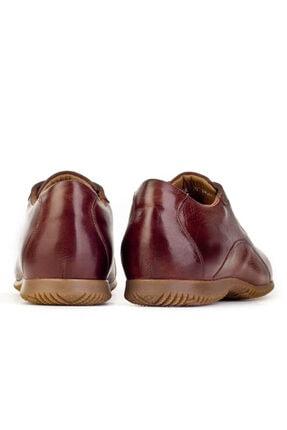Cabani Bağcıklı Erkek Ayakkabı Kahve Floter Deri 3