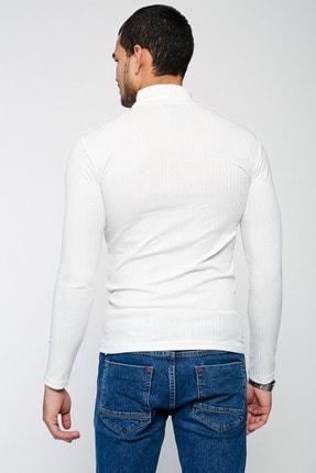 Lafaba Erkek Beyaz Triko 4