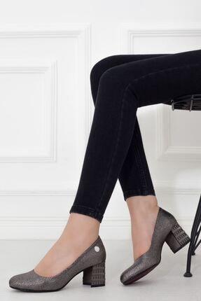 Mammamia Platin Topuklu Kadın Stiletto Ayakkabı • A202ydyl0061 0