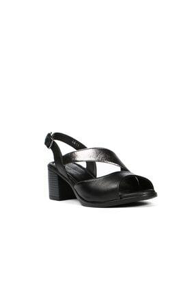 Hammer Jack Jack Siyah Kadın Terlik / Sandalet 542 4611-z 1