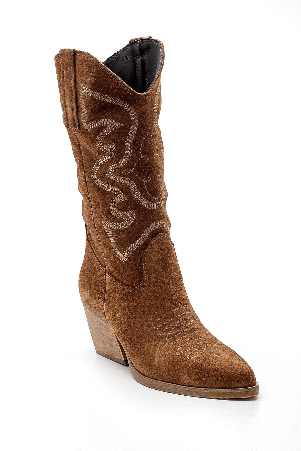 Derimod Kadın Kovboy Çizme