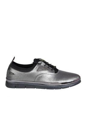 MİSS PARK MODA K16 Platin Kadın Günlük Ayakkabı 0