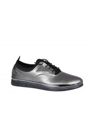 MİSS PARK MODA K16 Platin Kadın Günlük Ayakkabı 1