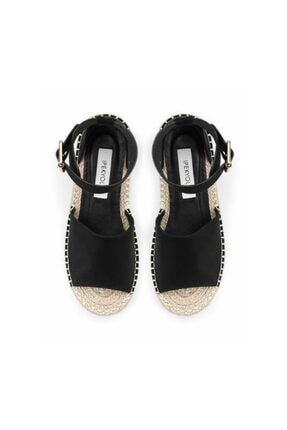 İpekyol Hasır Örme Topuklu Sandalet 2