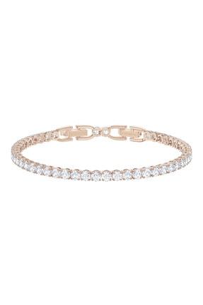 Swarovski Bilezik Tennis Dlx:bracelet Czwh/ros M 5513400 0
