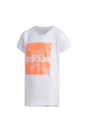 adidas Fm0824-c Yg Camo Tee Çocuk T-shirt Beyaz 0