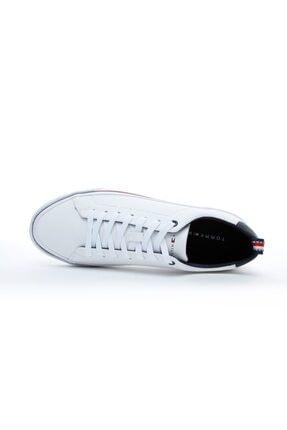 Tommy Hilfiger Corporate Erkek Beyaz Spor Ayakkabı 3