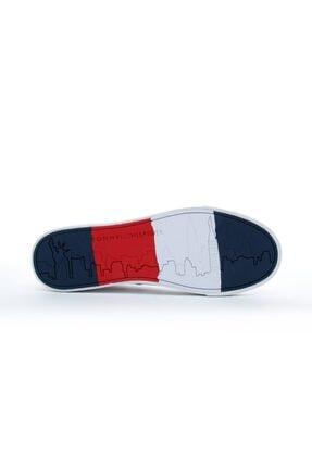 Tommy Hilfiger Corporate Erkek Beyaz Spor Ayakkabı 4