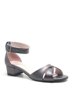 ALLİNA Füme Bilek Bantlı Alçak Topuk Kadın Ayakkabı 0
