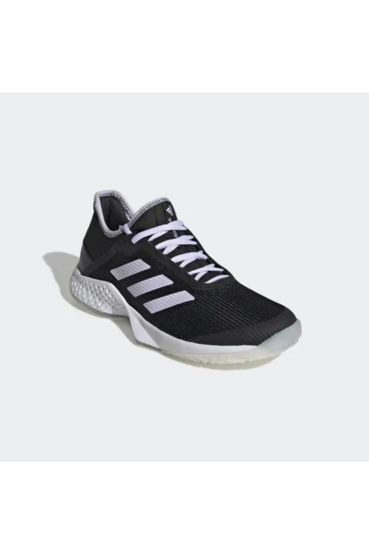 Ef2775 Adizero Club Kadın Siyah Tenis Ayakkabısı