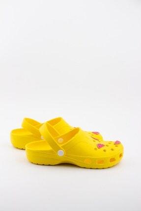 Akınalbella Kadın Sarı Karpuz Figürlü Yazlık Terlik 3