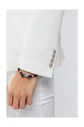 Avva Erkek Beyaz Mono Yaka Armürlü Slim Fit Torba Cepli Ceket A91y4027 4