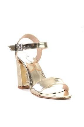 Bambi Altın Kadın Klasik Topuklu Ayakkabı K05503740039 2