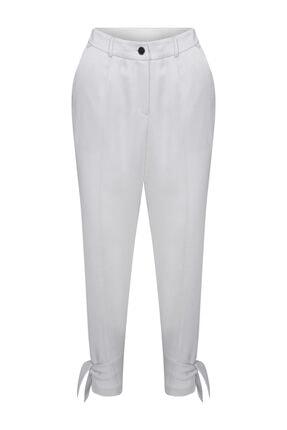 W Collection Paçası Bağlama Detaylı Pantolon 0