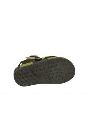 Şirin Bebe 201-21 (22-25 Arası) Ortopedik Yeşil Çocuk Sandalet 2