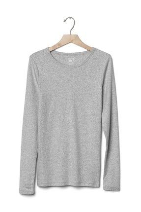 GAP Uzun Kollu Sıfır Yaka T-shirt 4