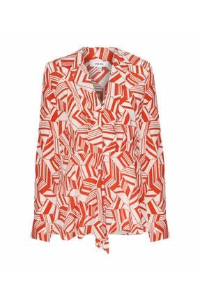 İpekyol Desenli Bluz 4