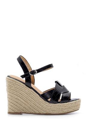Derimod Kadın Dolgu Topuklu Sandalet 0