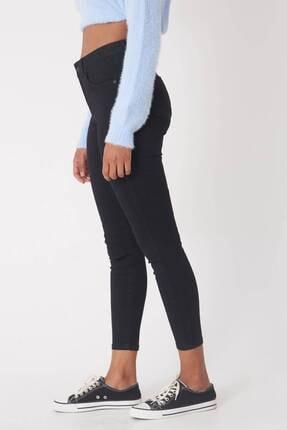 Addax Kadın Siyah Yüksek Bel Pantolon Pn5400 - H8H10 Adx-0000013883 2