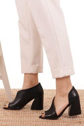 Mio Gusto Eva Siyah Topuklu Ayakkabı 4