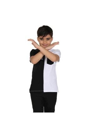 Picture of Erkek Çocuk Cepli Arka Baskılı Tişört