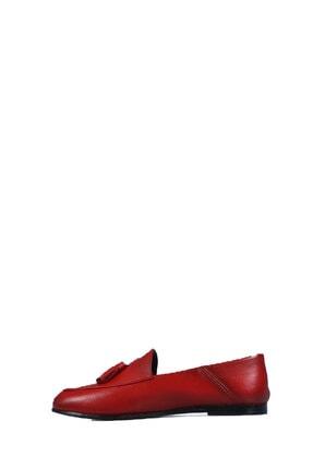 Diego Carlotti 8456 Bayan Kırmızı Günlük Babet 1