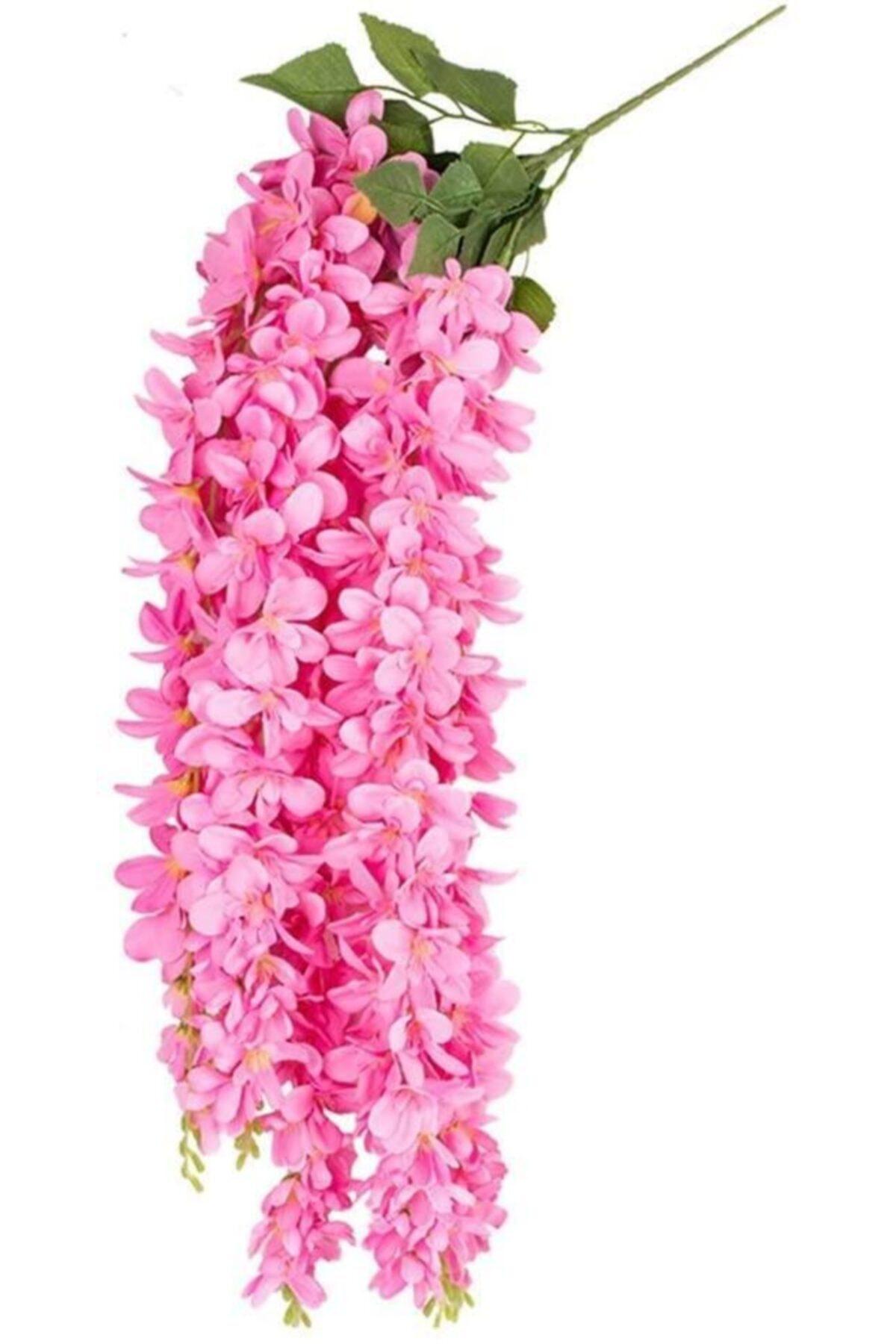 Yapay Çiçek Sarkan Lüx Akasya 70cm Pembe