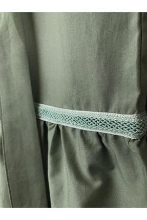 BZ Tasarım Yeşil Çocuk Elbise 4