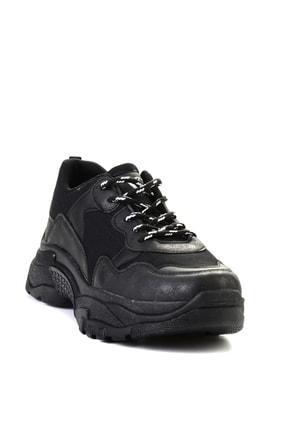 Bambi Sıyah Kadın Sneaker L0613542222 2