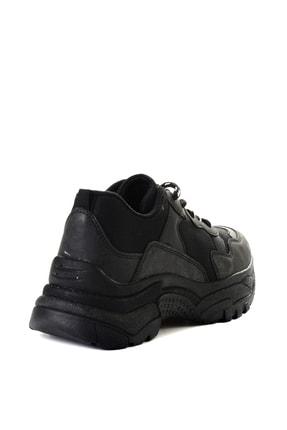 Bambi Sıyah Kadın Sneaker L0613542222 3