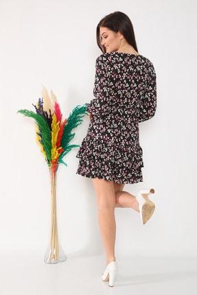 etselements Etek Ucu Fırfırlı Elbise 4