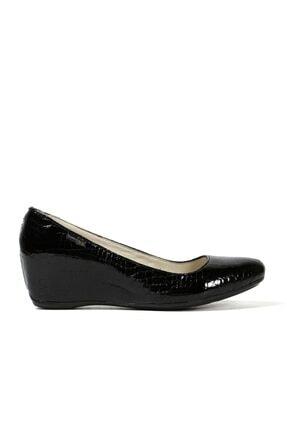 Hammer Jack Siyah Krok Kadın Ayakkabı 171 1000-07-z 0
